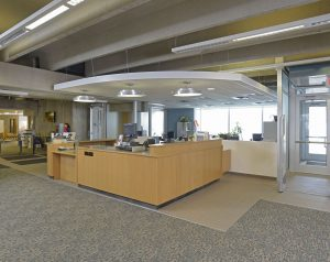 Marvin Library Desk