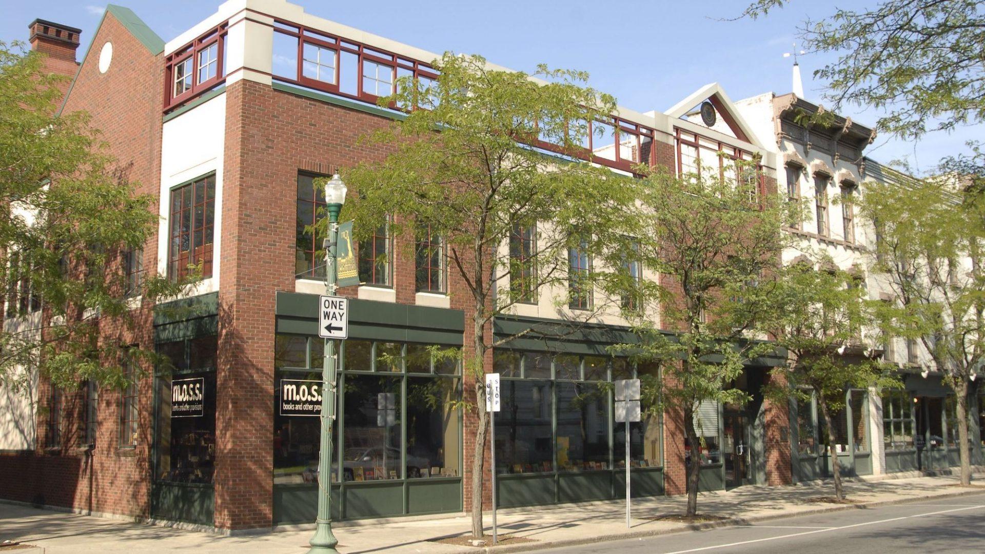 M.O.S.S. Bookstore Street