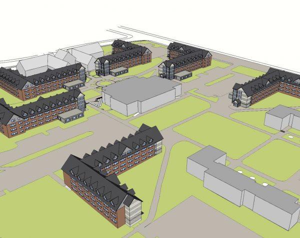 Residence Hall Mockup Plan