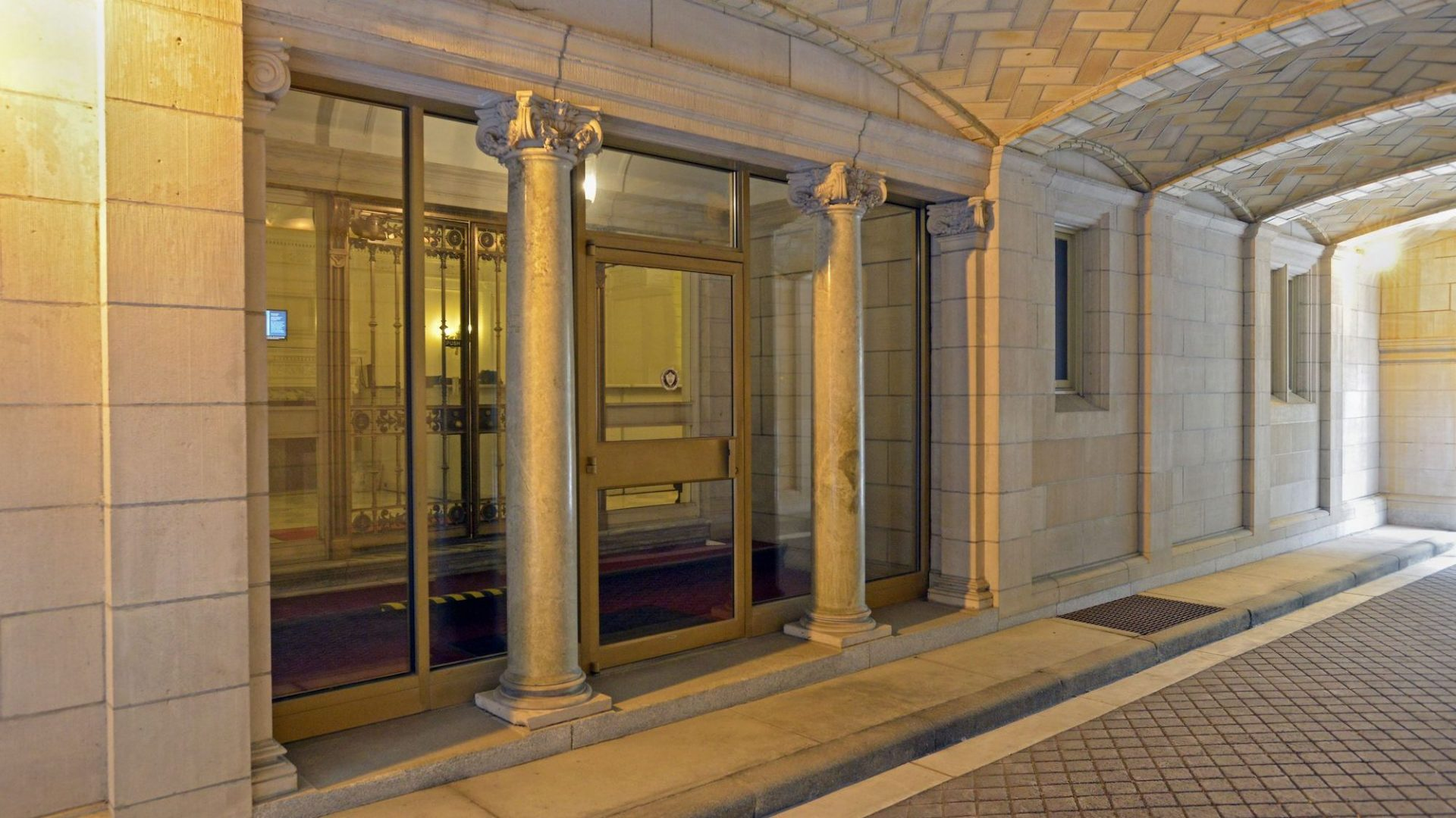 Rockefeller Institute of Government Entrance
