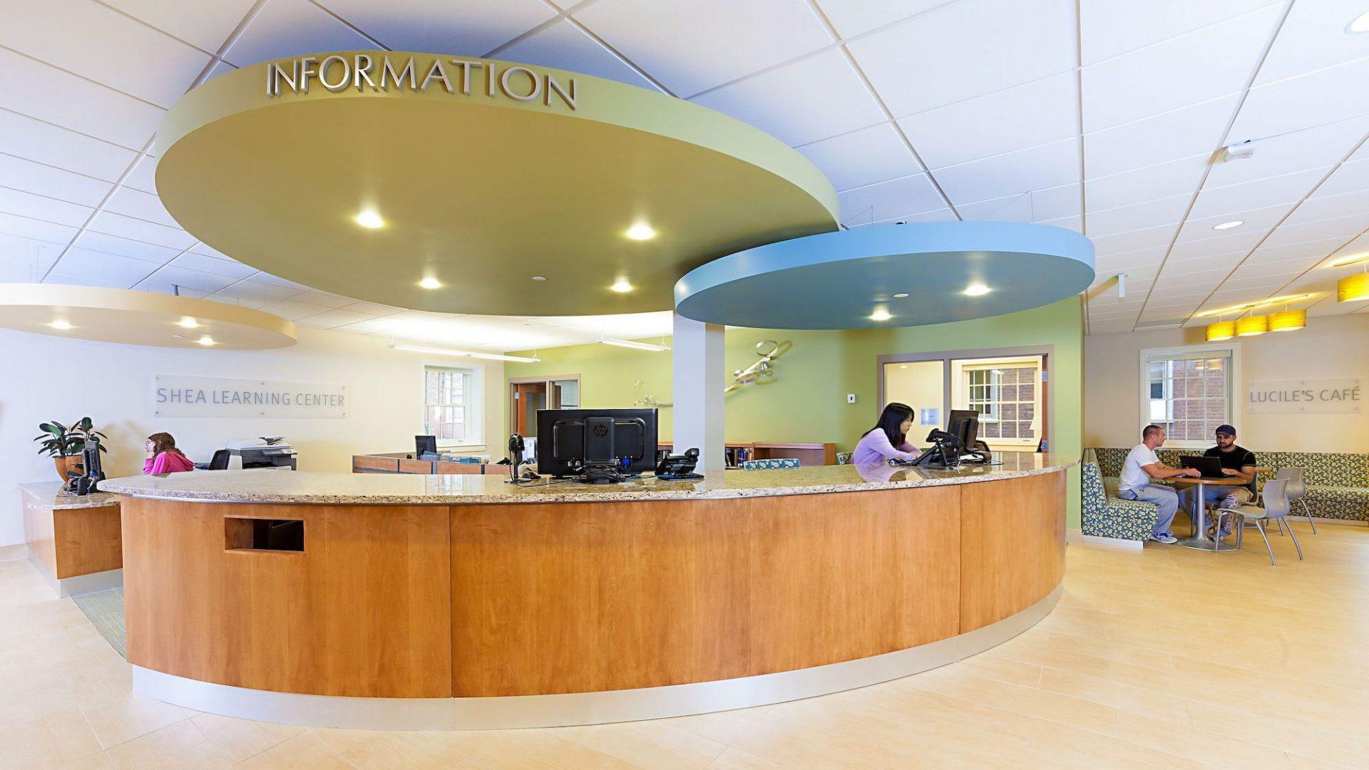 Shea Learning Center Reception