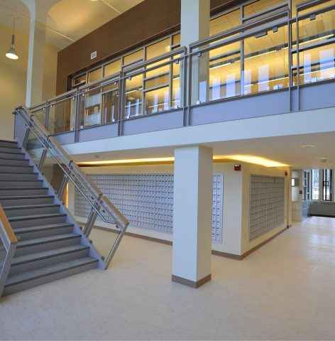 State/Indian Quad Dining Halls Stairs