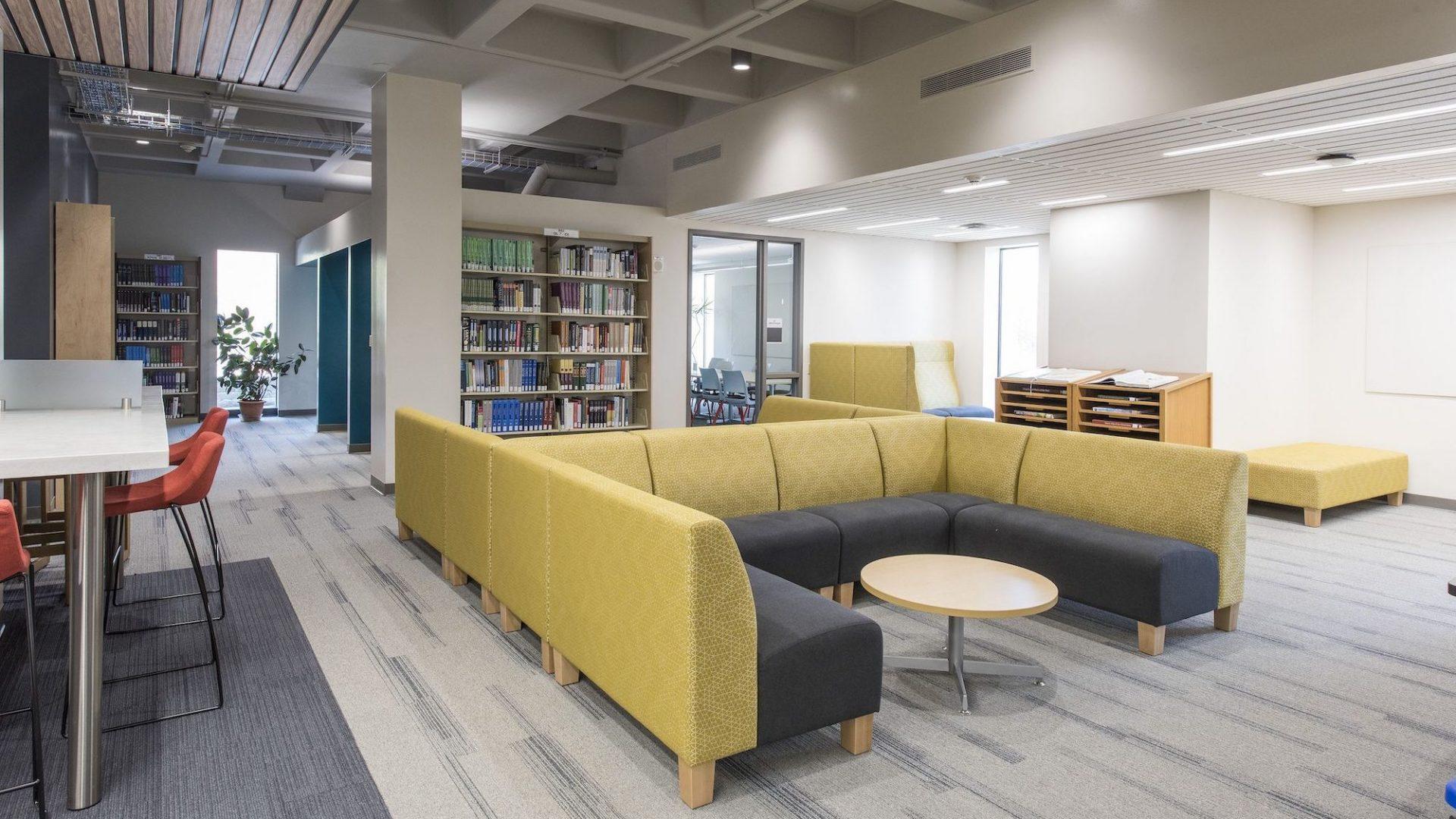Milne Library Interior