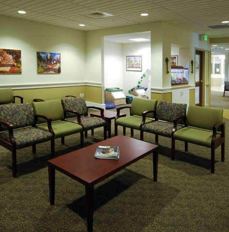 Capital Care Family Practice Waiting Room
