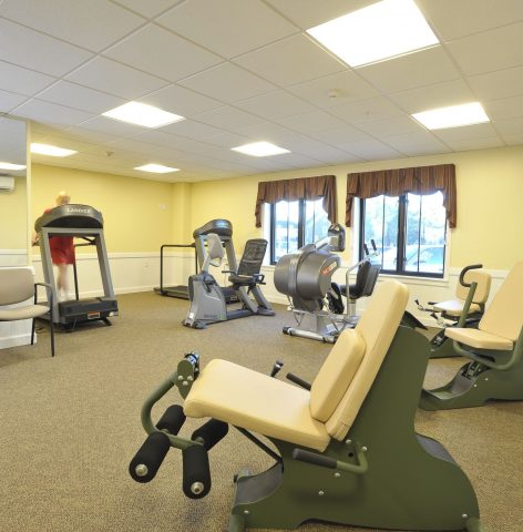 Eddy Memorial Geriatric Center Gym
