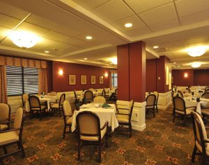 Eddy Memorial Geriatric Dining Room