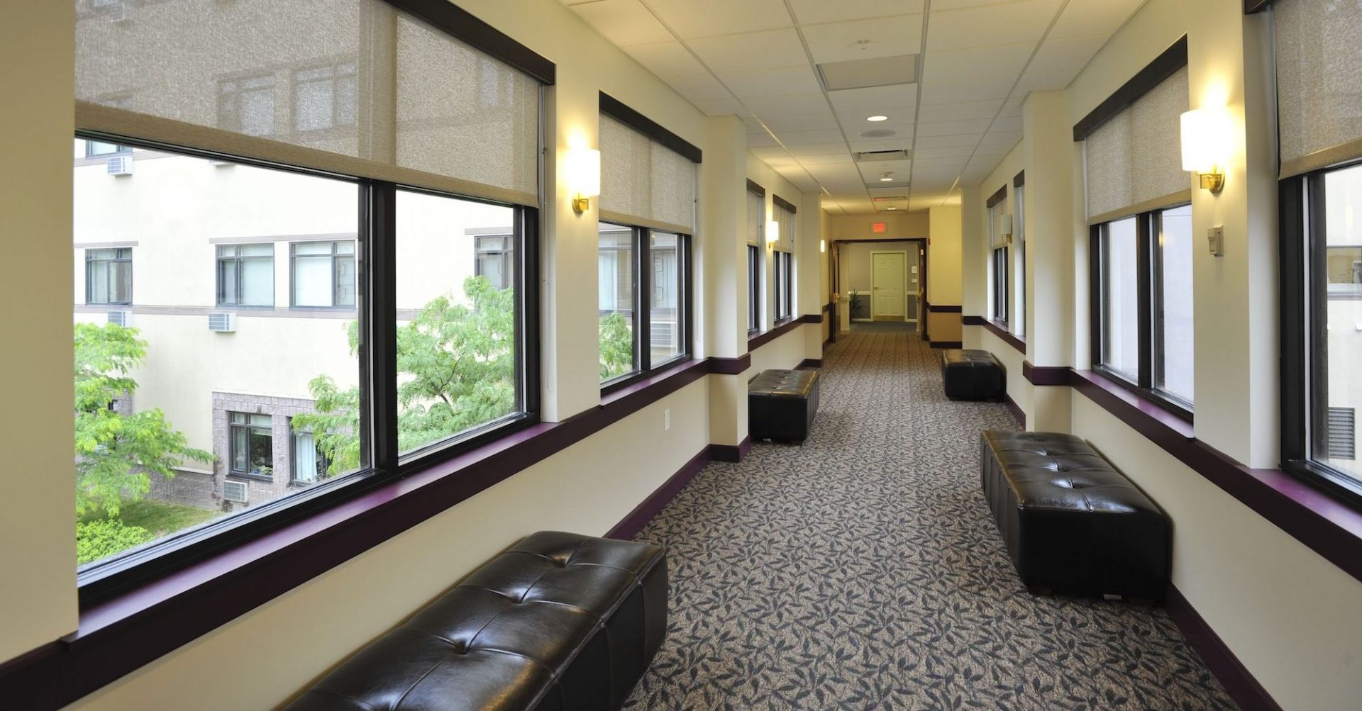 Eddy Memorial Geriatric Dining Room Hallway