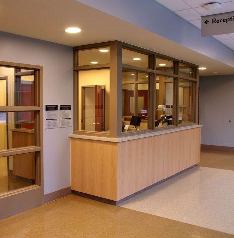Erie County Behavioral Healthcare Hallway