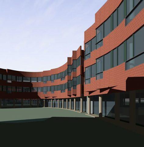 LIJ Hospital - Hillside Hospital rendering