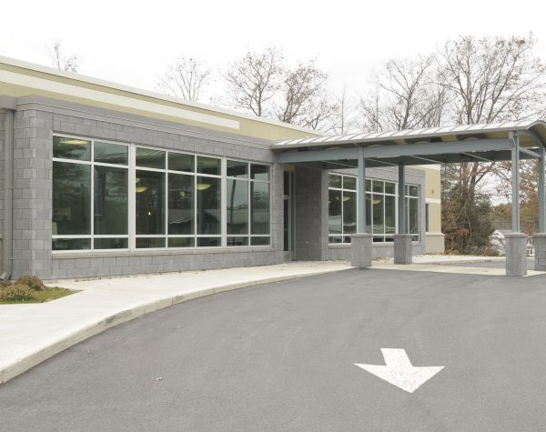 Nathan Littauer Primary Care Facility Entrance