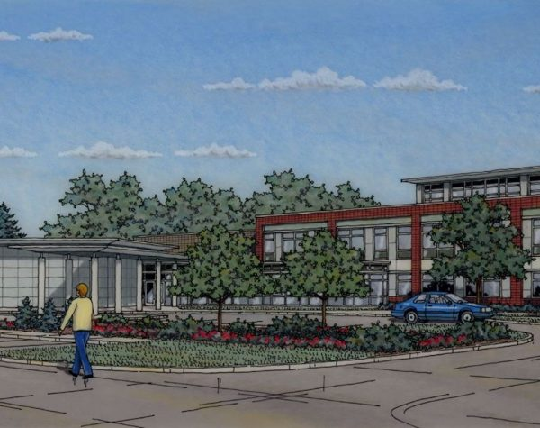Parkwood Special Care Facility Rendering