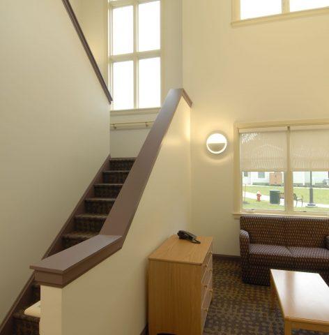 Rockland Community Residences Stairway