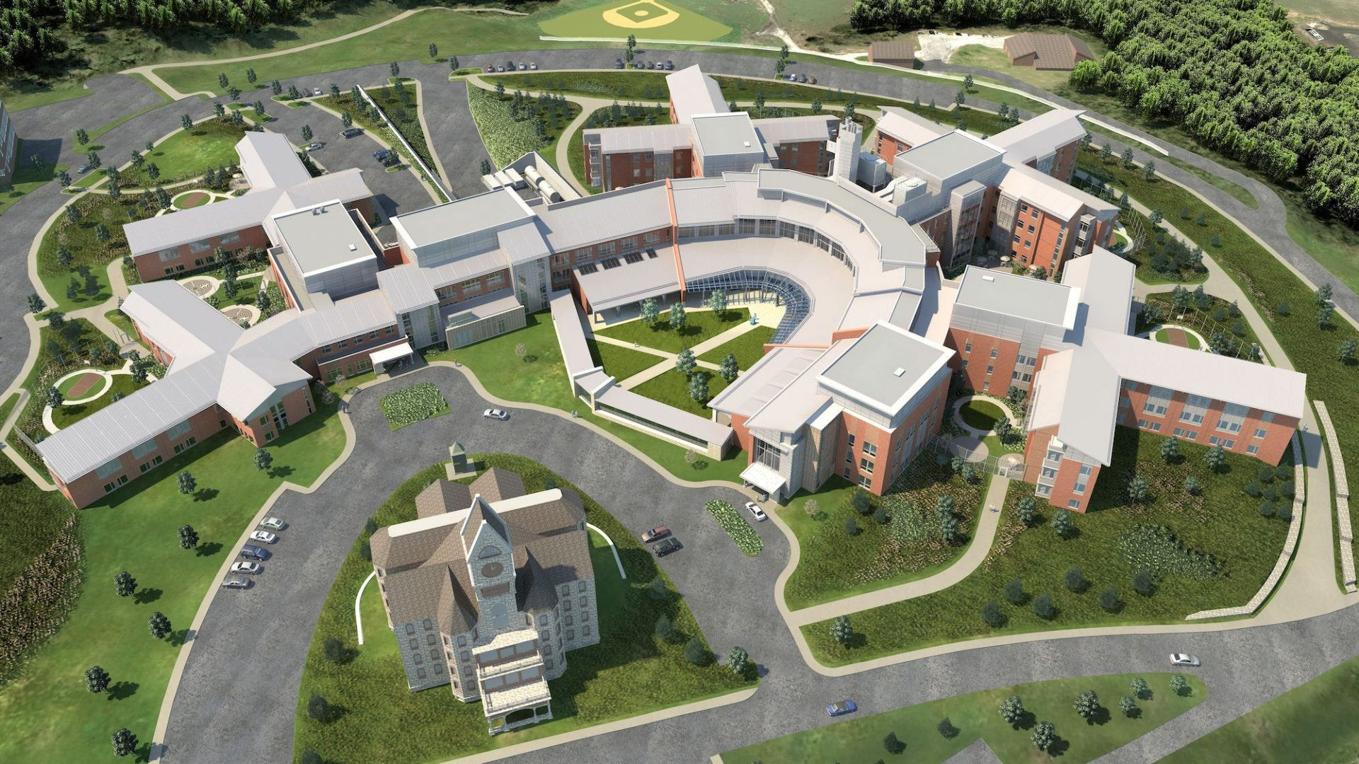 Worcester Recovery Center Rendering