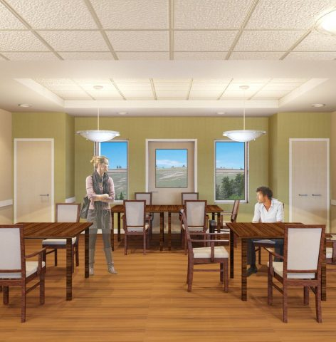 Wyoming Life Resource Center Dining Room