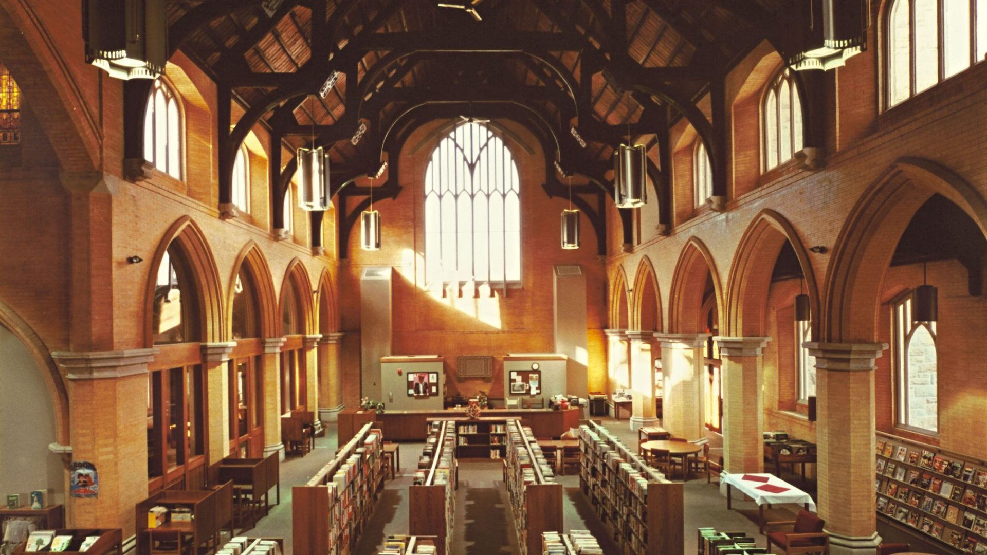 Cohoes Public Library Interior