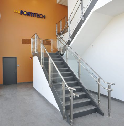 Fortitech Office/Warehouse Stairway