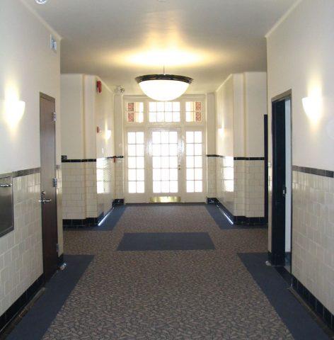 Roosevelt Bath House Lobby Hallway