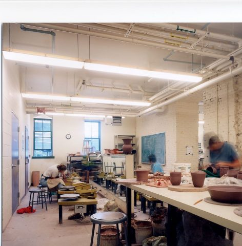 The Arts Center of the Capital Region Pottery