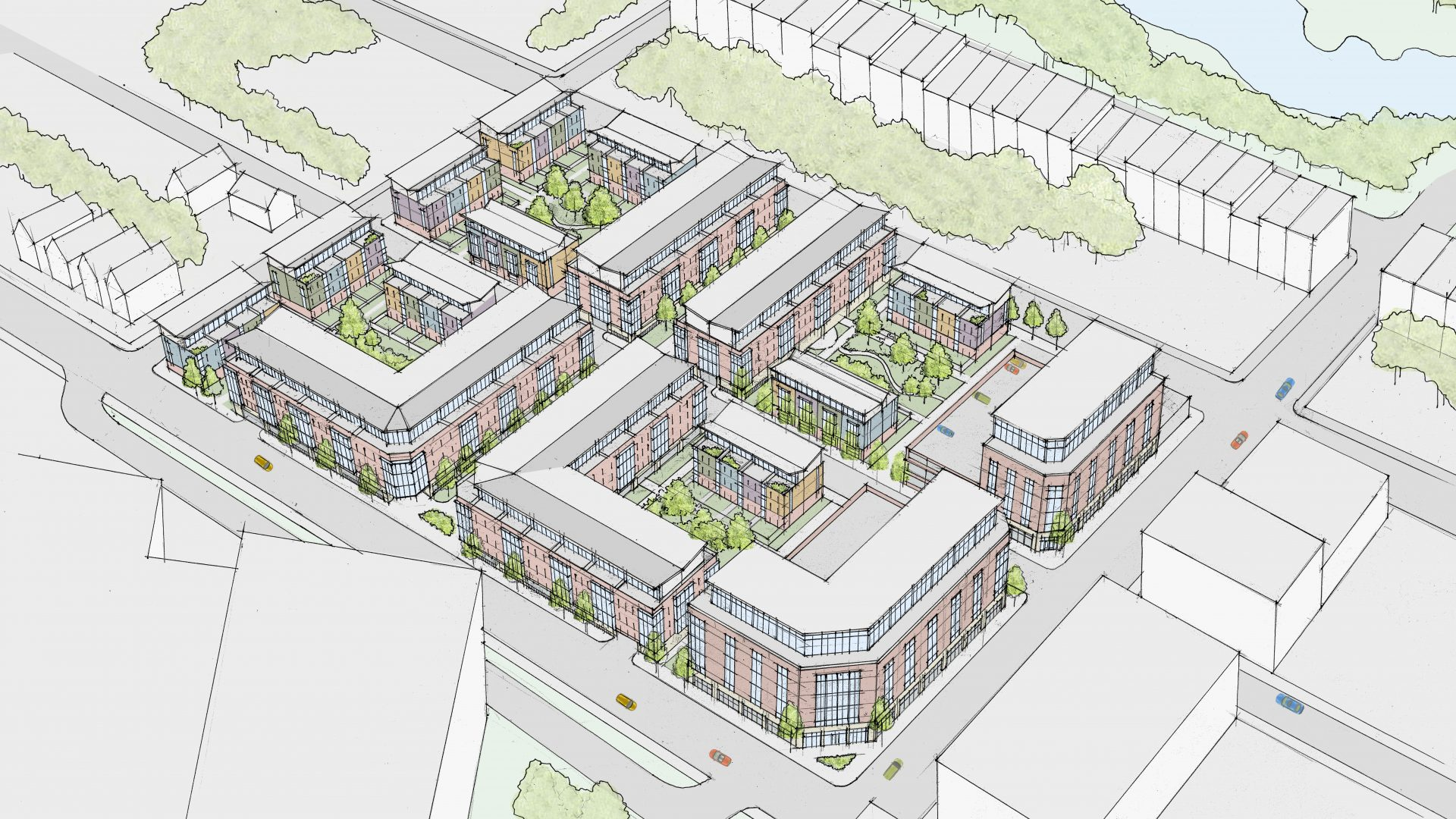 Residential Development blueprint