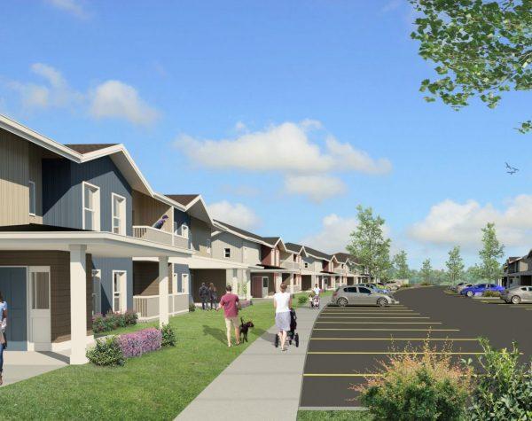 Riverside Apartments Rendering