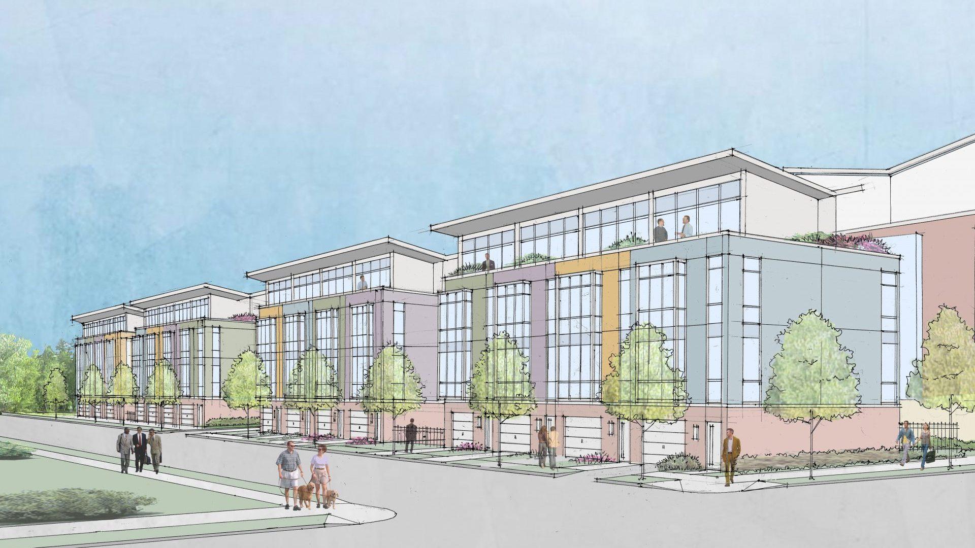 South Troy Waterfront Neighborhood Revitalization Rendering