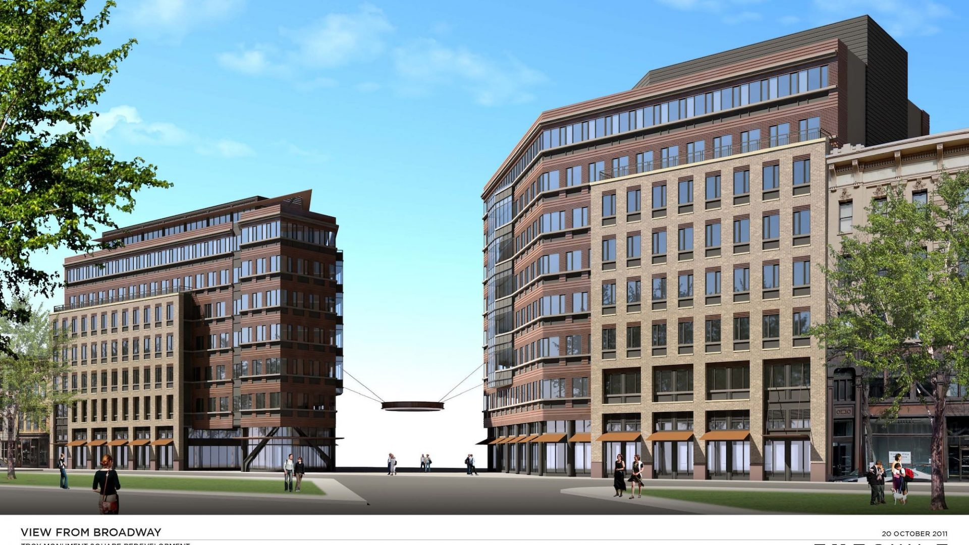 Troy City Center rendering