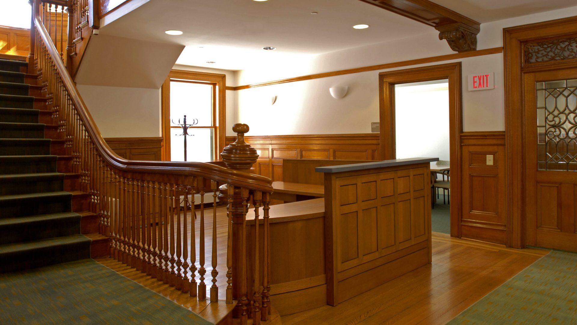Alumni Services Lobby