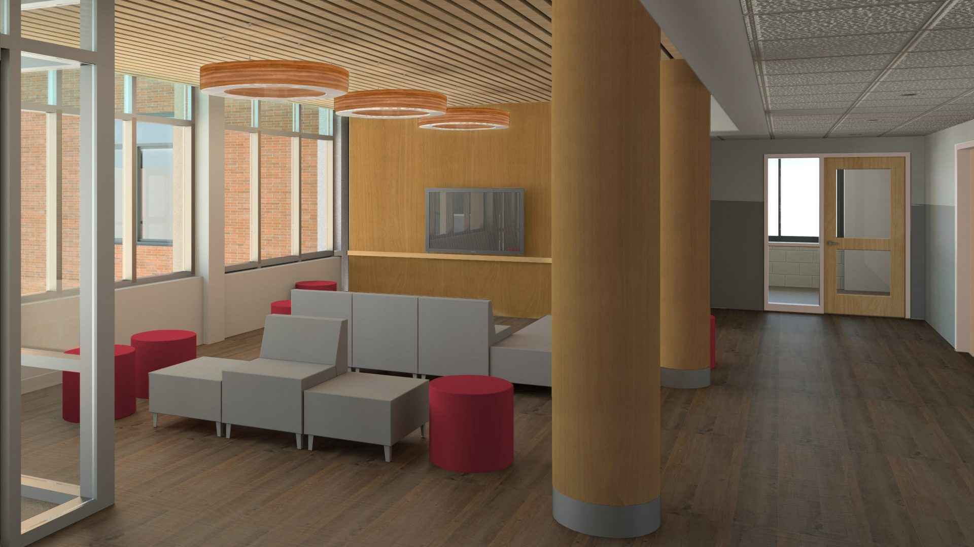 MacDuff Residence Hall Lounge