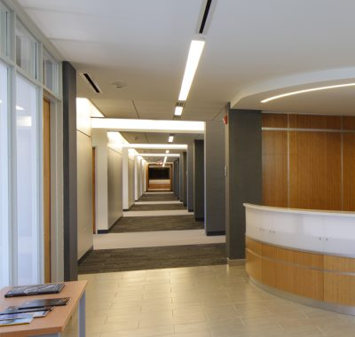 SUNY Plaza Hallway