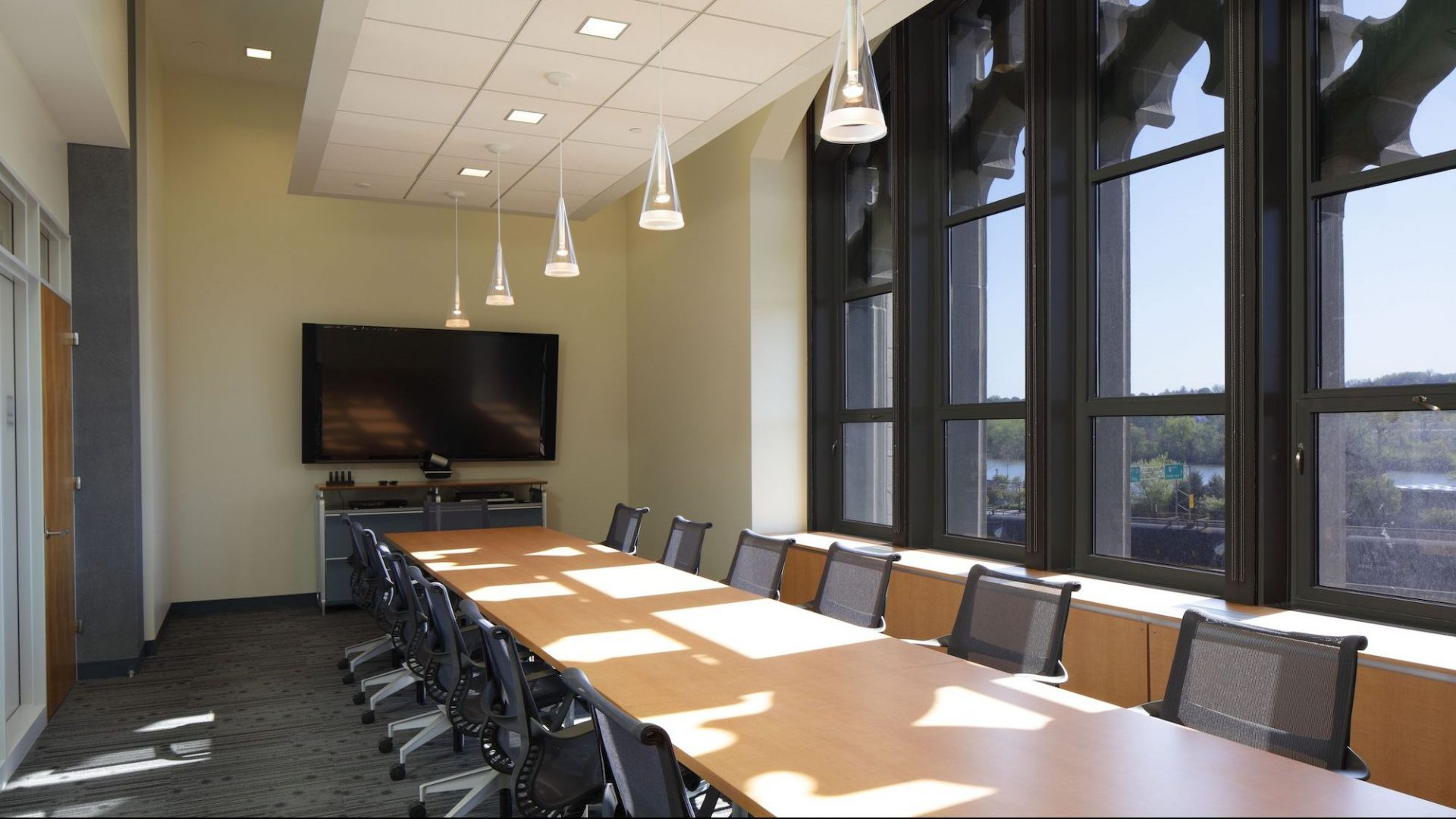 SUNY Plaza building conference room