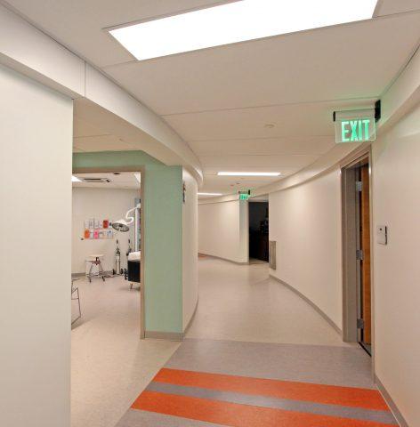 Health Center Hallway