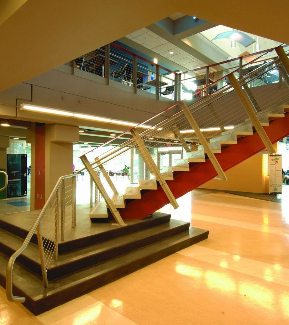 HVCC Campus Center Stairs