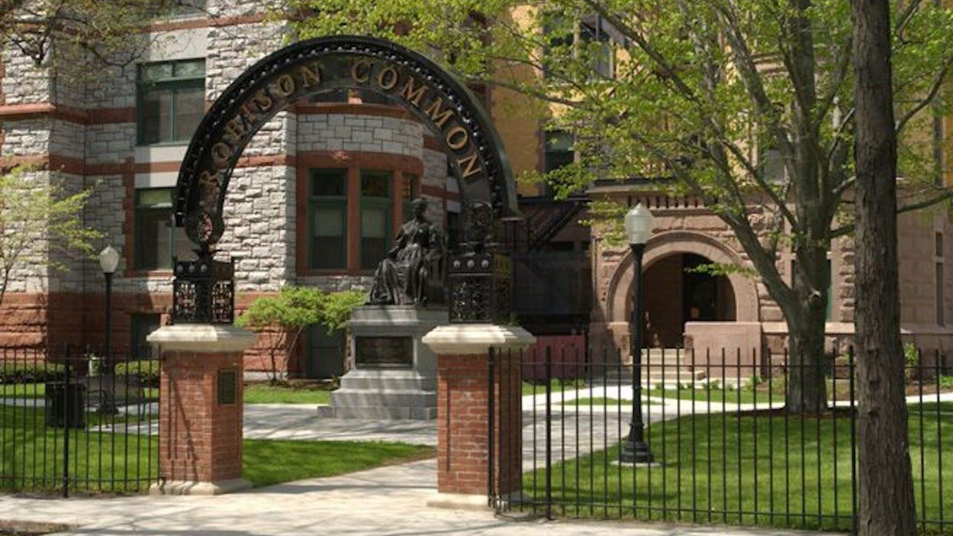 Gurley Hall Robison Common Arch Historic Sage Colleges 2