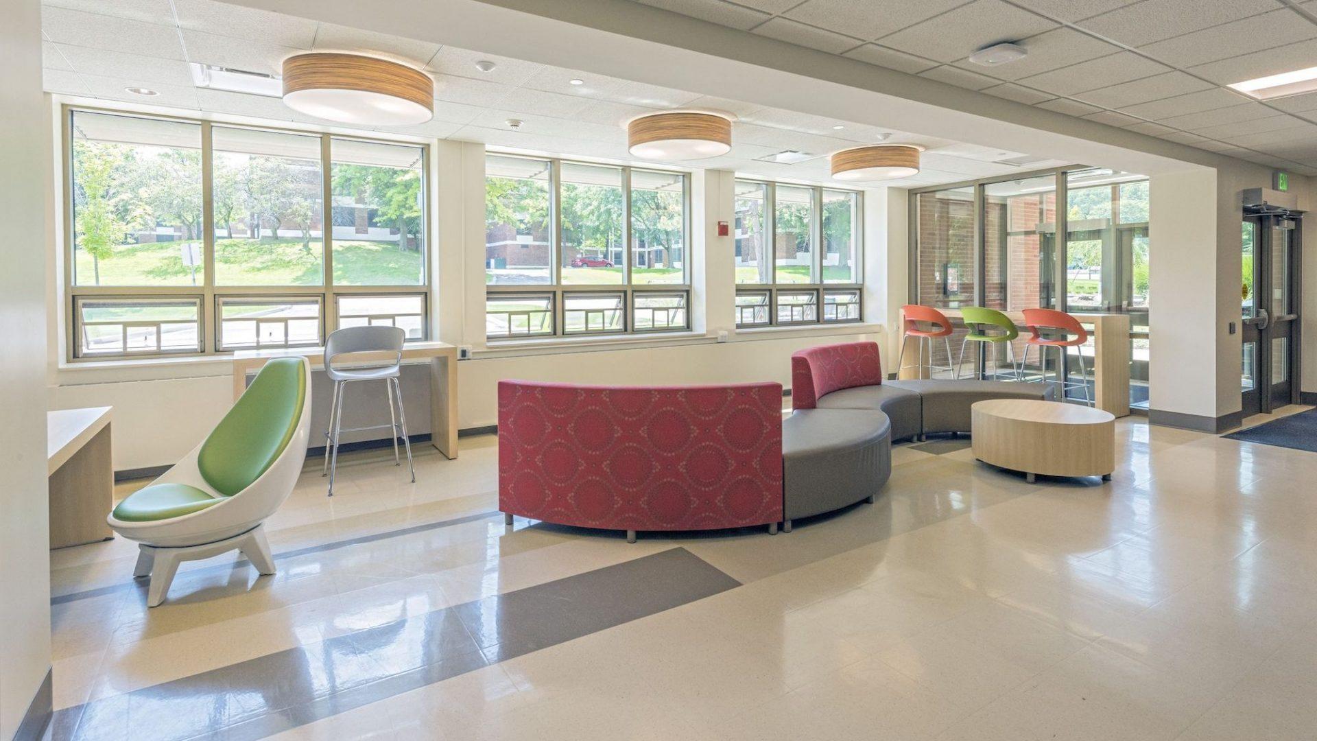 Binghamton Student Wing Interior 1