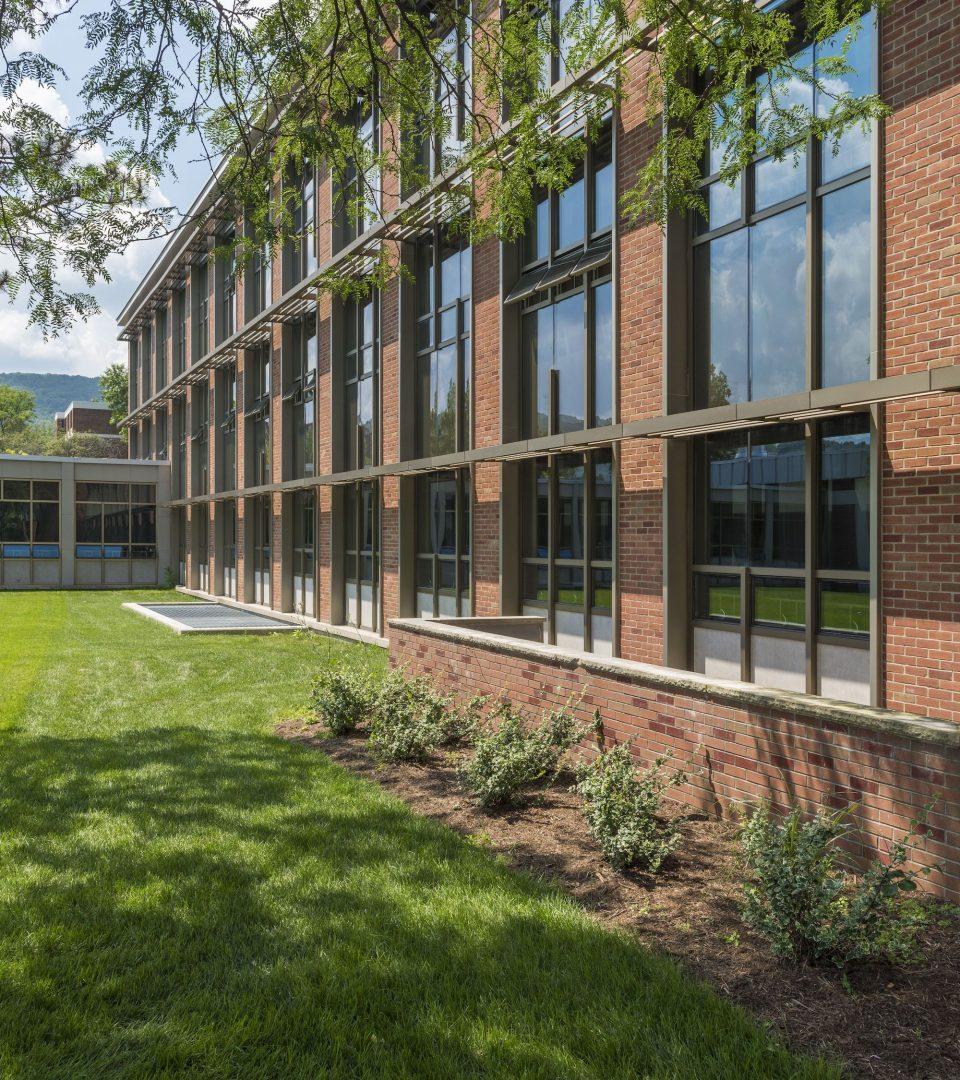 Binghamton Student Wing Exterior 2