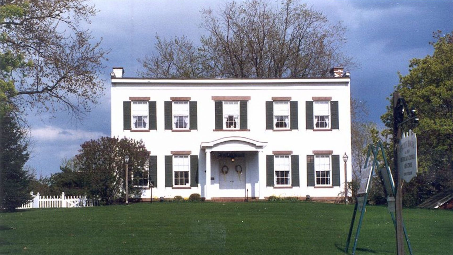 Pruyn House Exterior Front