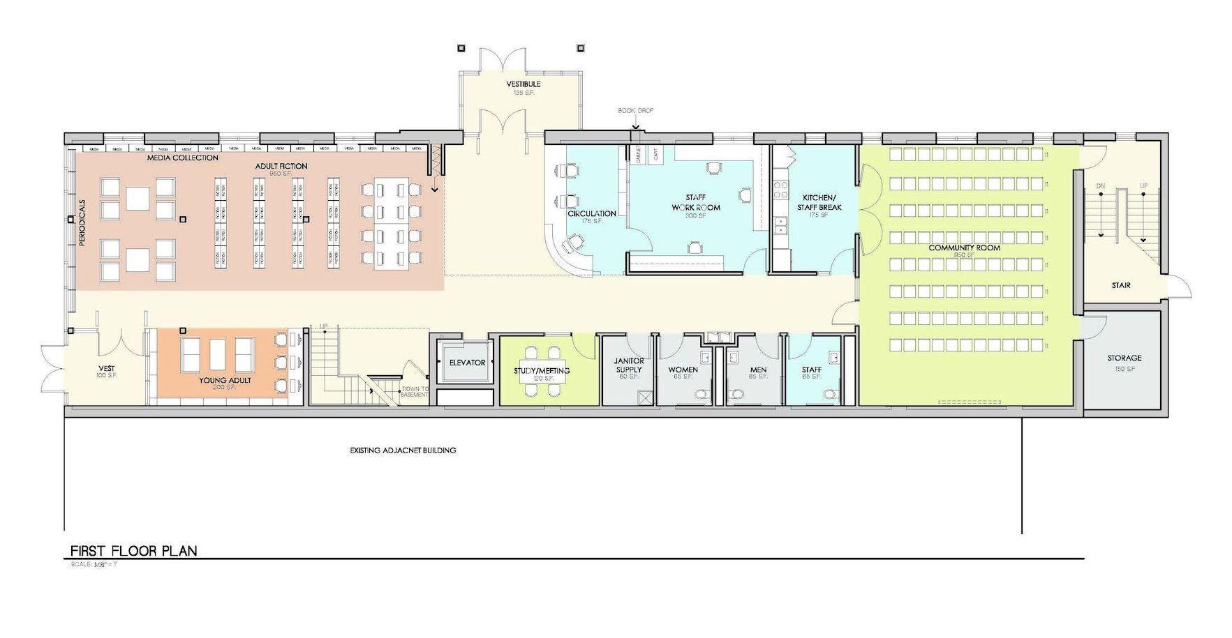 Crawford First Floor Plan