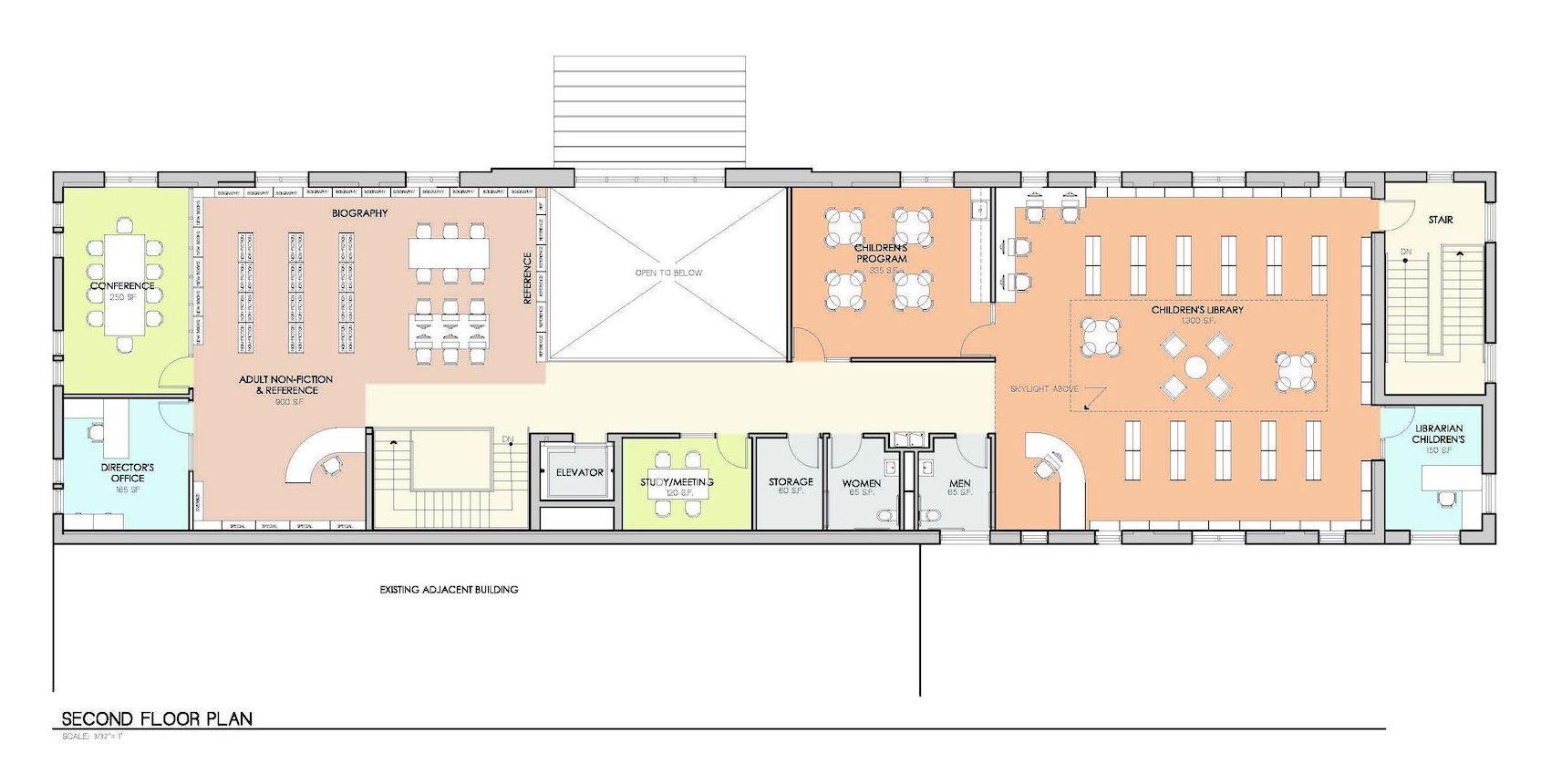 Crawford Second Floor Plan