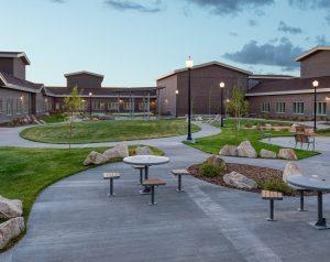 Wyoming State Psychiatric Exterior
