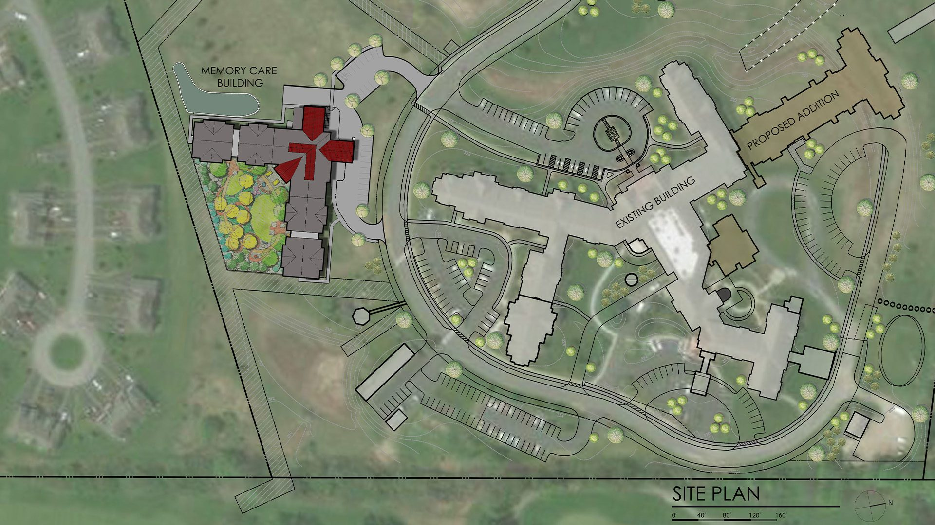 Hiland Meadows site plan