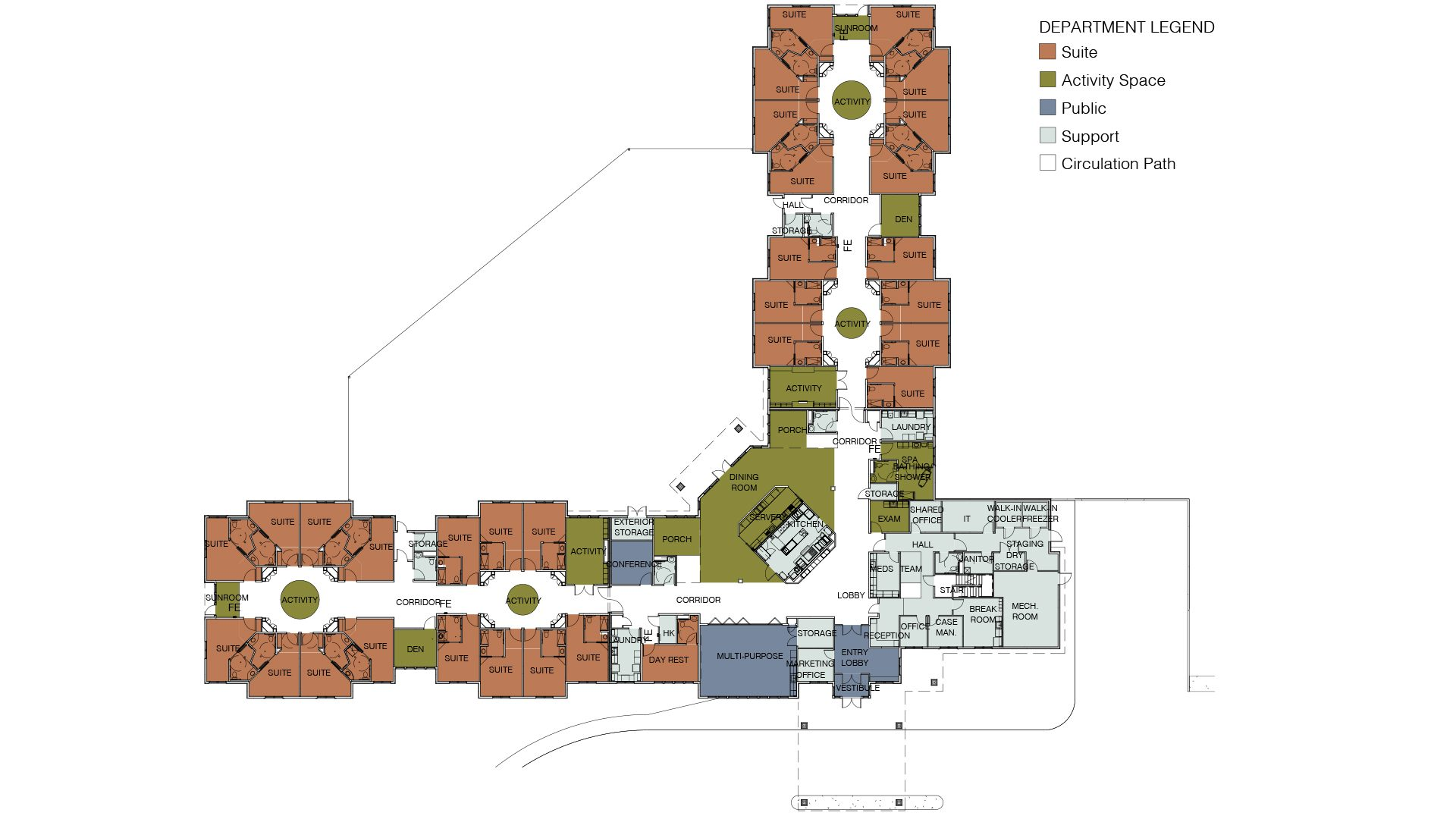 Hiland Meadows floor plan