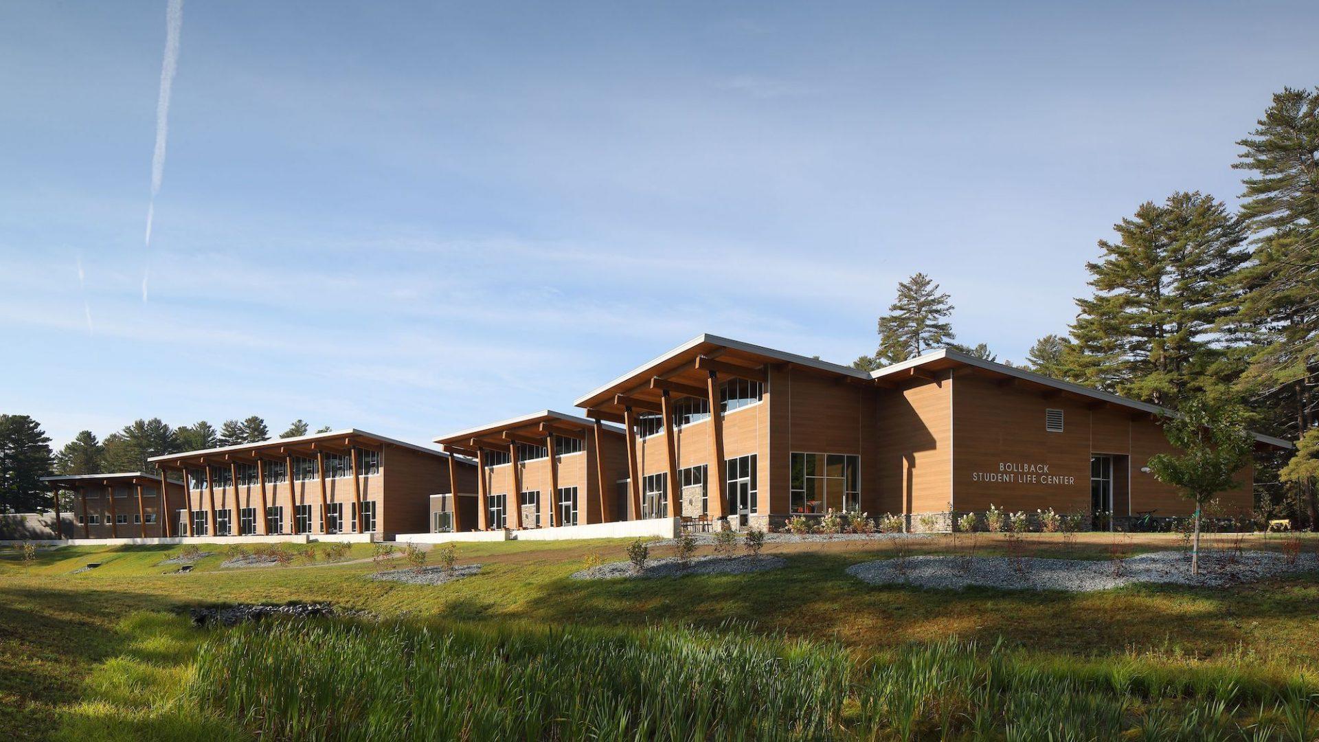 Bollback student life center exterior
