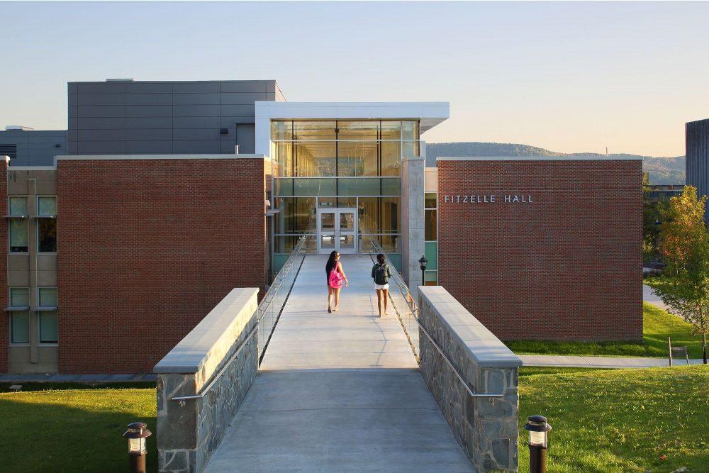 Fitzelle Hall Walkway